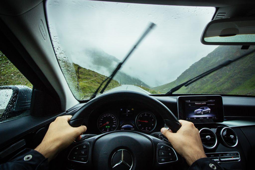 steering the wheel