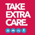 Take extra care logo